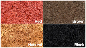 Different Colors of Mulch