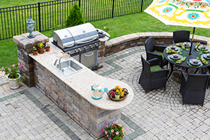 Outdoor Landscaping and Patio Construction